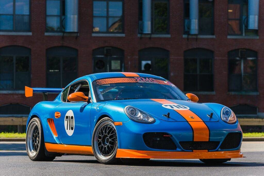 2011 porsche cayman interseries racecar